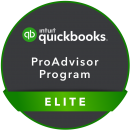 quickbooks elite advisor badge