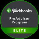 quickbooks elite advisor badge