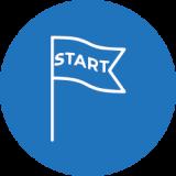 start flag icon