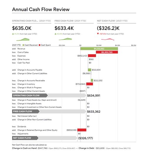 Annual Cash Flow Review